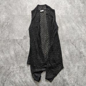 Mad Style black lace cardigan shrug